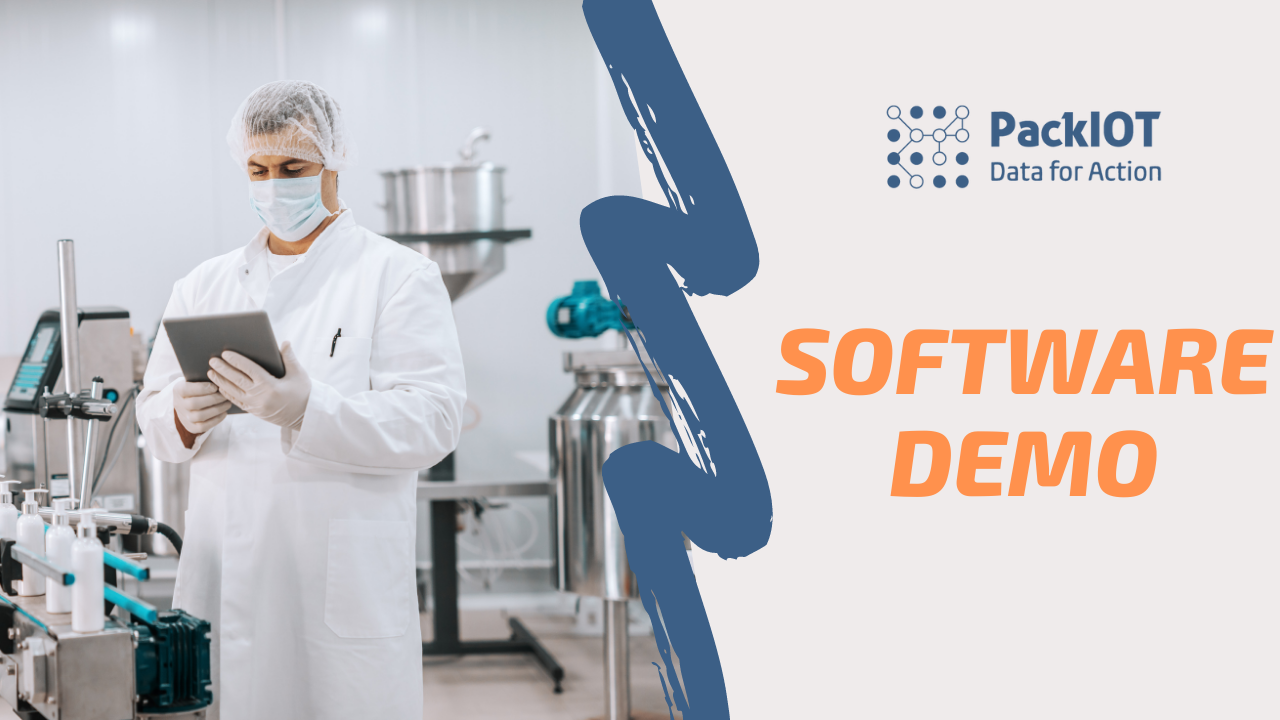 PackIOT Software Demo